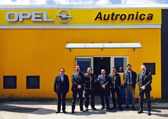 Opel, comunicato stampa: a Tavagnacco la migliore officina d'Italia