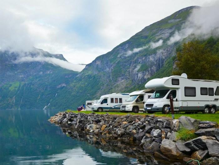 , Parcheggio libero in camper: consigli per una sosta corretta e sicura