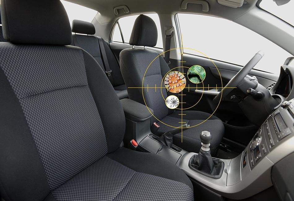 igienizzazione, L'igienizzazione dell'auto fa bene alla salute
