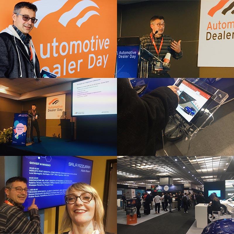 , Autofficina Autronica d'esempio all'Automotive Dealer Day di Verona